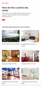 modelo email airbnb